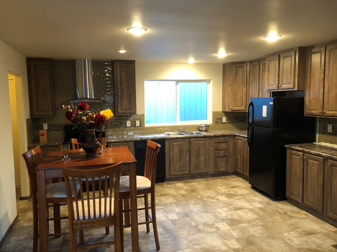 The 5502 - ARABIAN Kitchen. This Manufactured Mobile Home features 3 bedrooms and 2 baths.